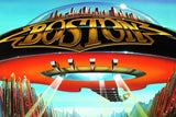 Boston Don't Look Back Album Comer Classic Rock Poster
