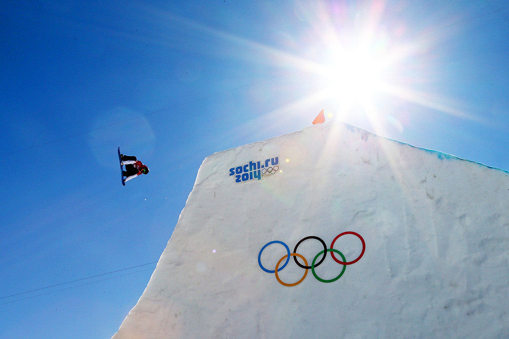 Snowboard Olympic Games Sochi Sport Poster