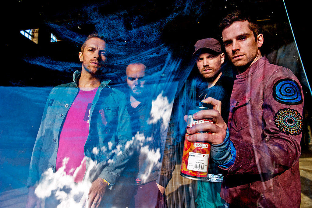 Coldplay Rock Band Music Poster