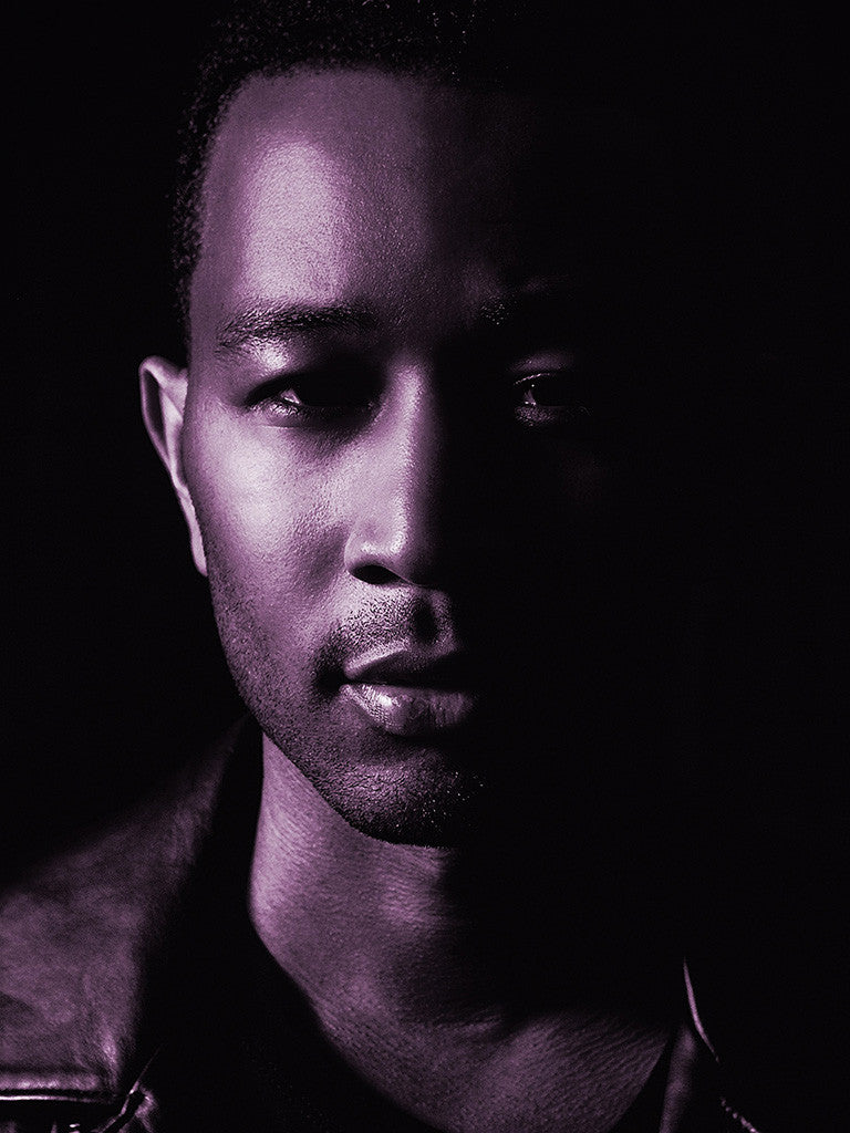 John Legend Glasses Music Poster