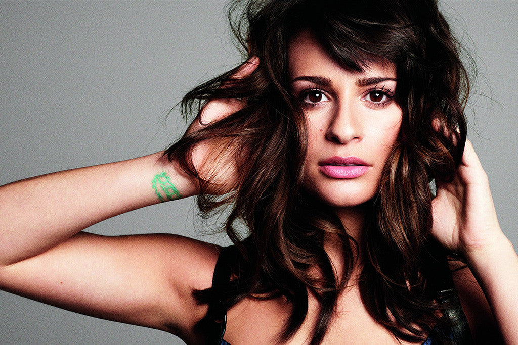 Lea Michele Hot Music Poster