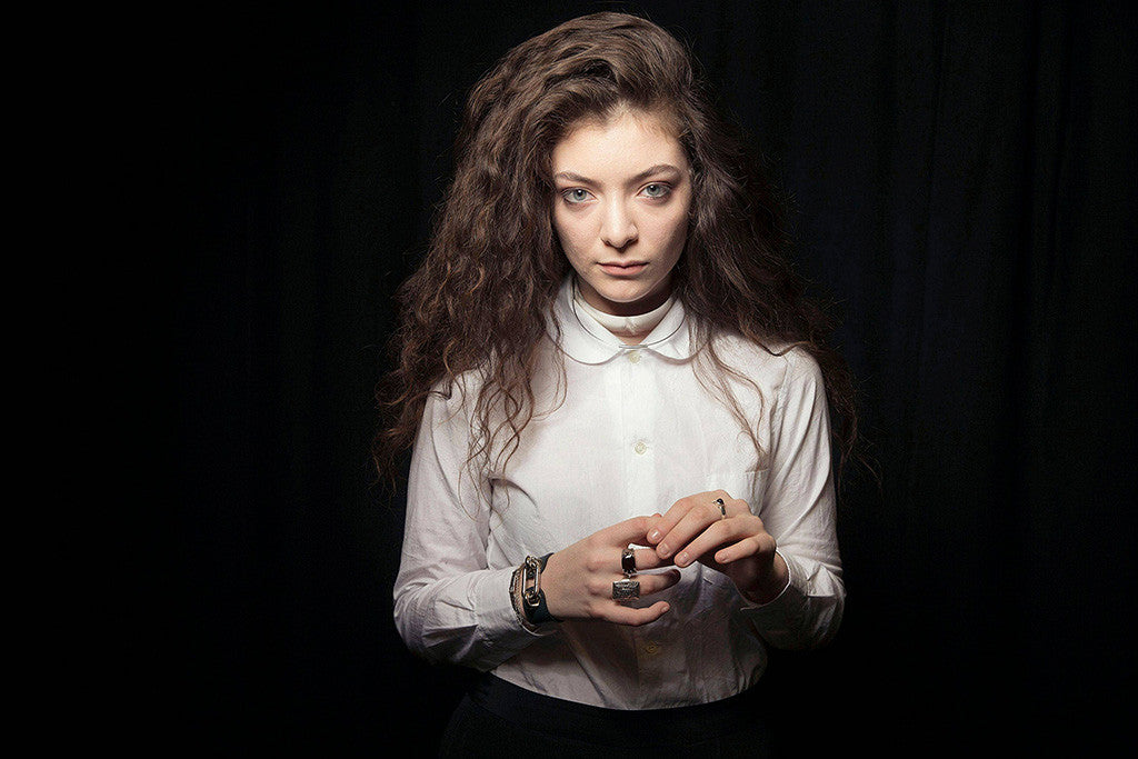 Lorde Hot Music Poster