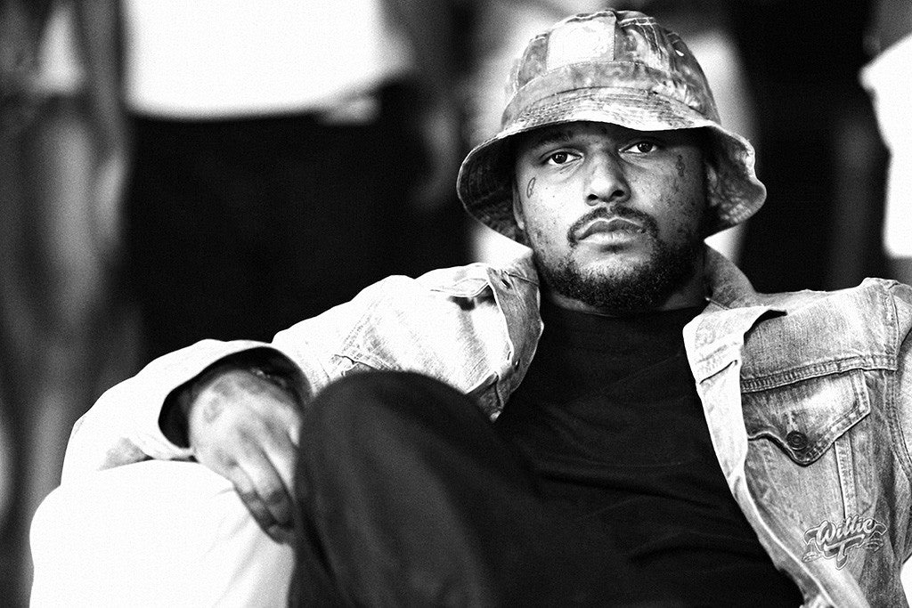 Schoolboy Q Hip Hop Music Black and White Poster