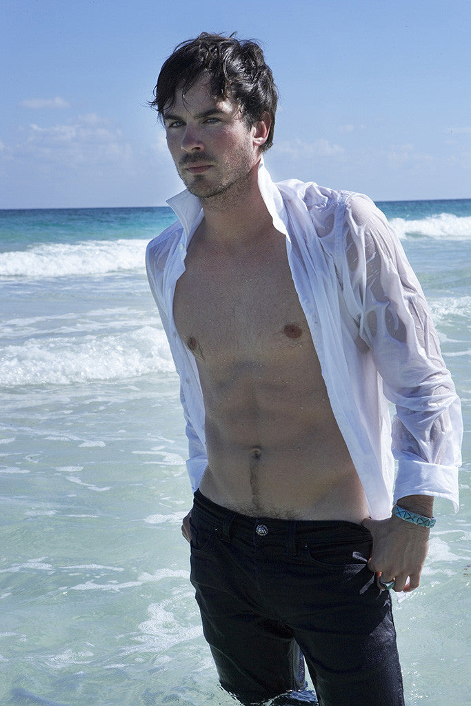 Ian Somerhalder Shirtless Hot Body Poster