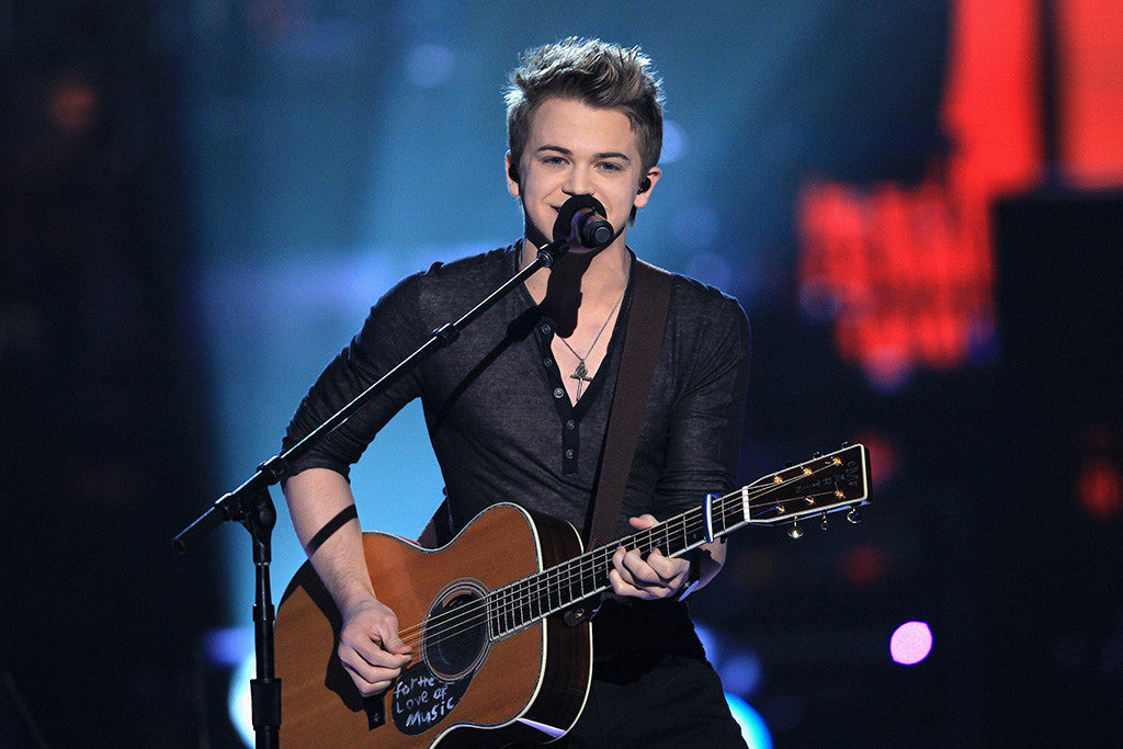 Hunter Hayes Country Music Guitar Poster