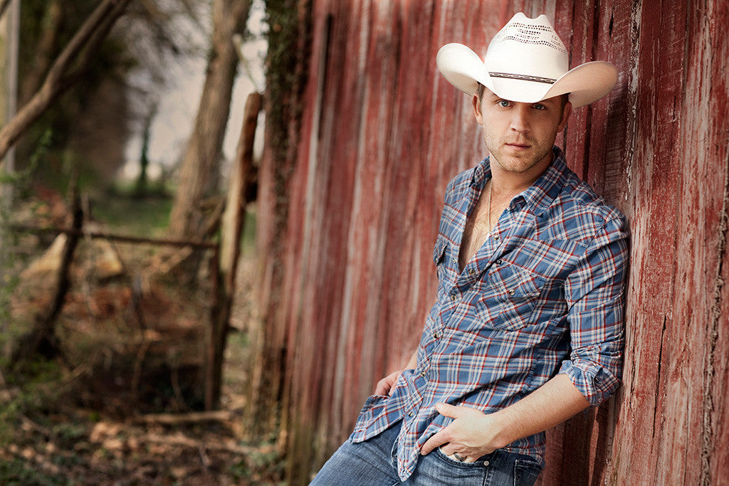 Justin Moore Country Music Singer Poster