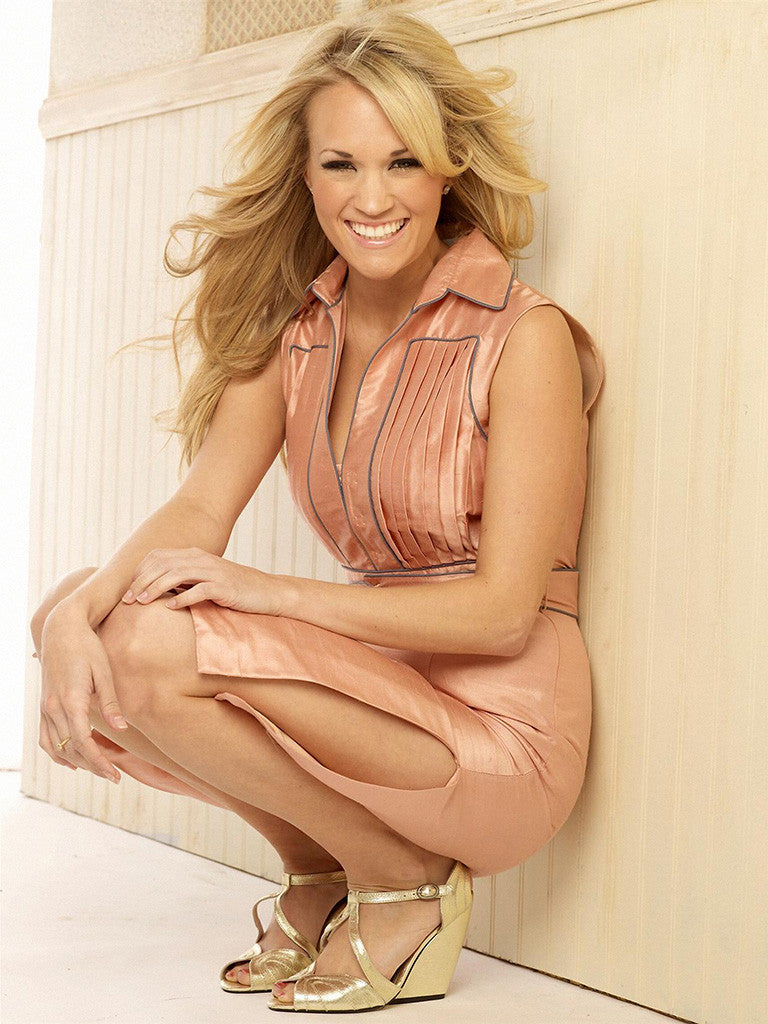 Carrie Underwood Sexy Legs Country Music Poster