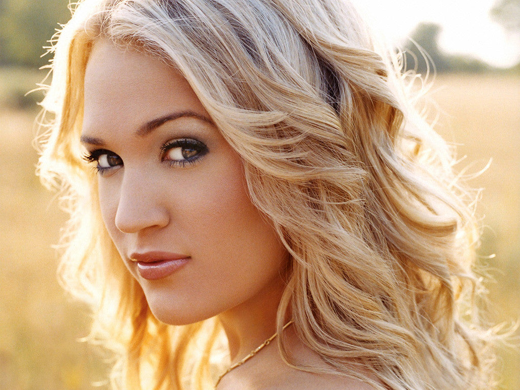Carrie Underwood Hot Country Music Poster