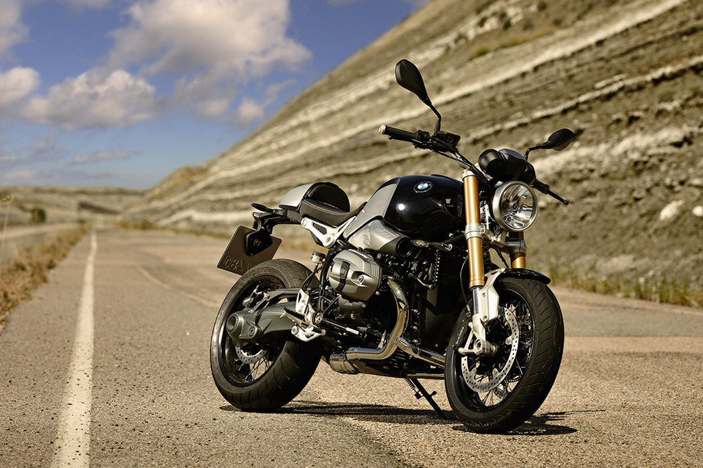 BMW R Ninet Bike Motorcycle Poster