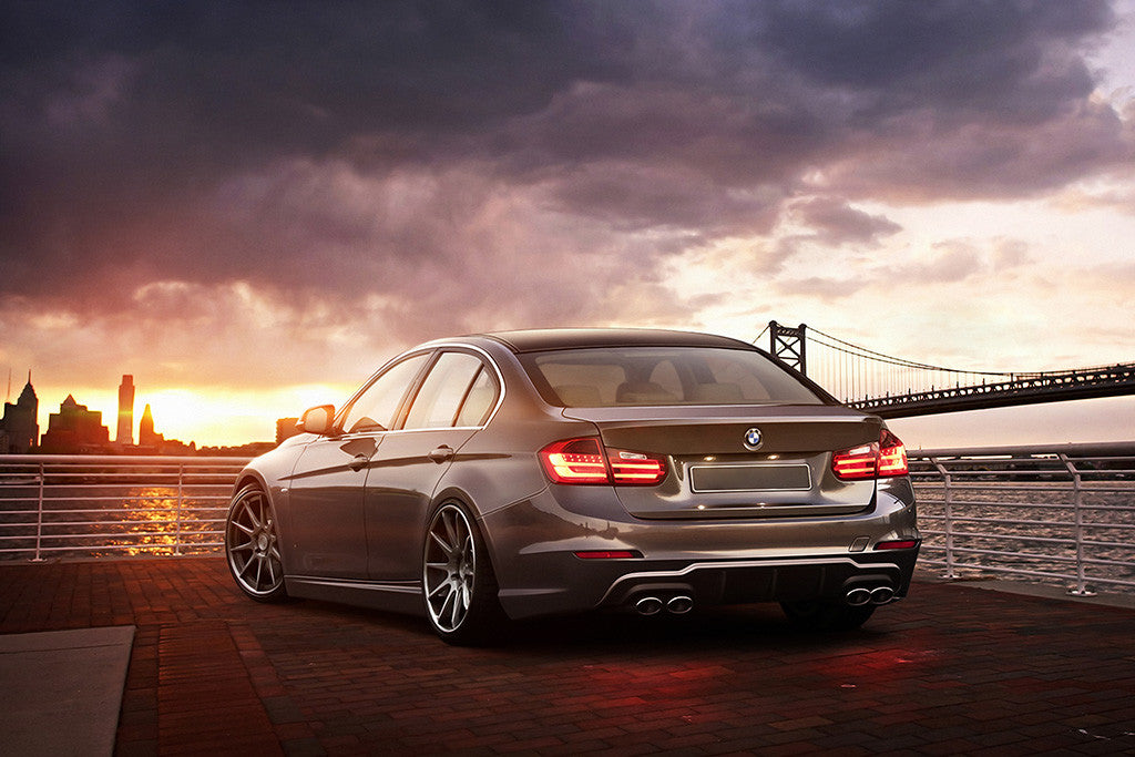 BMW 3 Series F30 335i Car Poster
