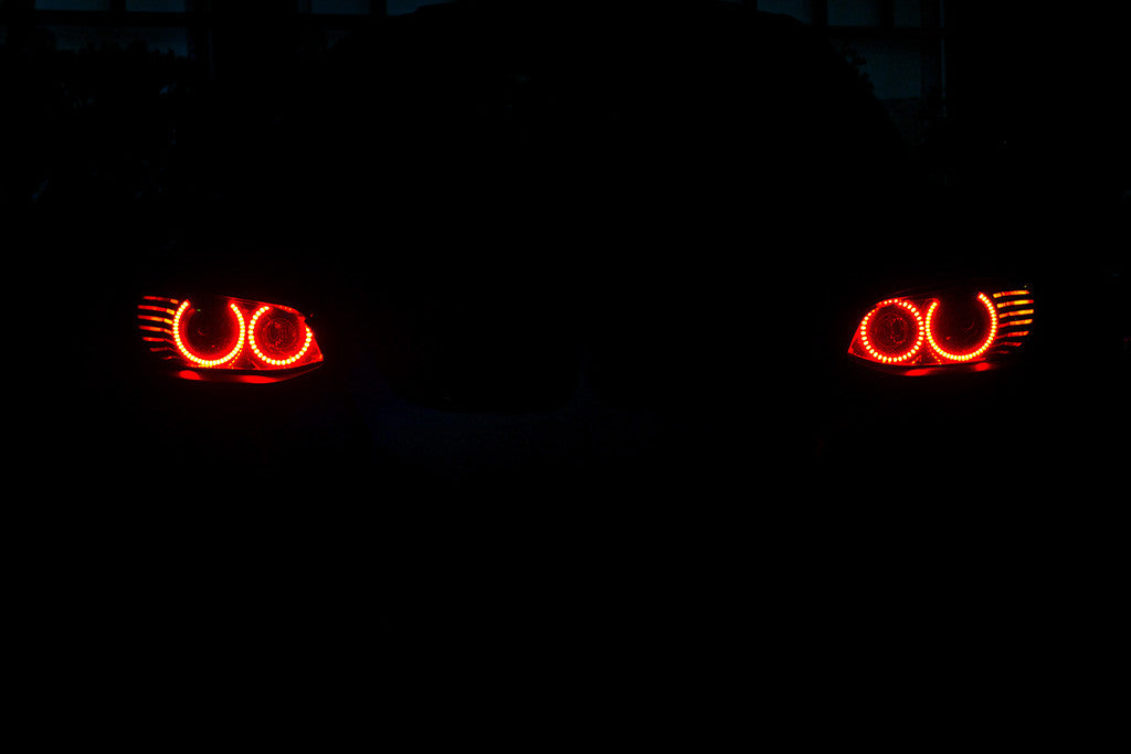 BMW 3 Series M3 E92 Lights Angel Eyes Car Poster