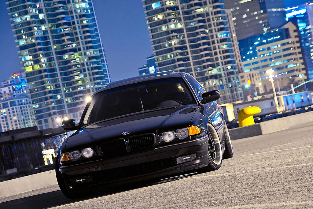 Bmw 7 Series E38 Black Car Poster My Hot Posters
