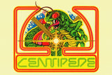 Centipede Old Classic Retro Game Poster