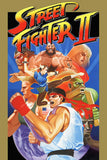 Street Fighter II 2 Old Classic Retro Game Poster