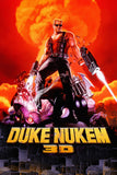 Duke Nukem 3D Old Classic Retro Game Poster