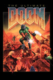 Ultimate Doom Old Classic Retro Game Poster