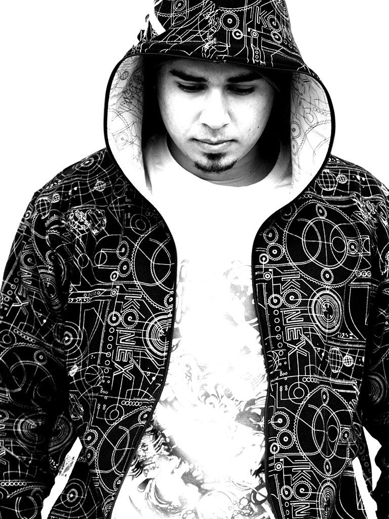 Afrojack Black and White Dj Electronic Music Poster