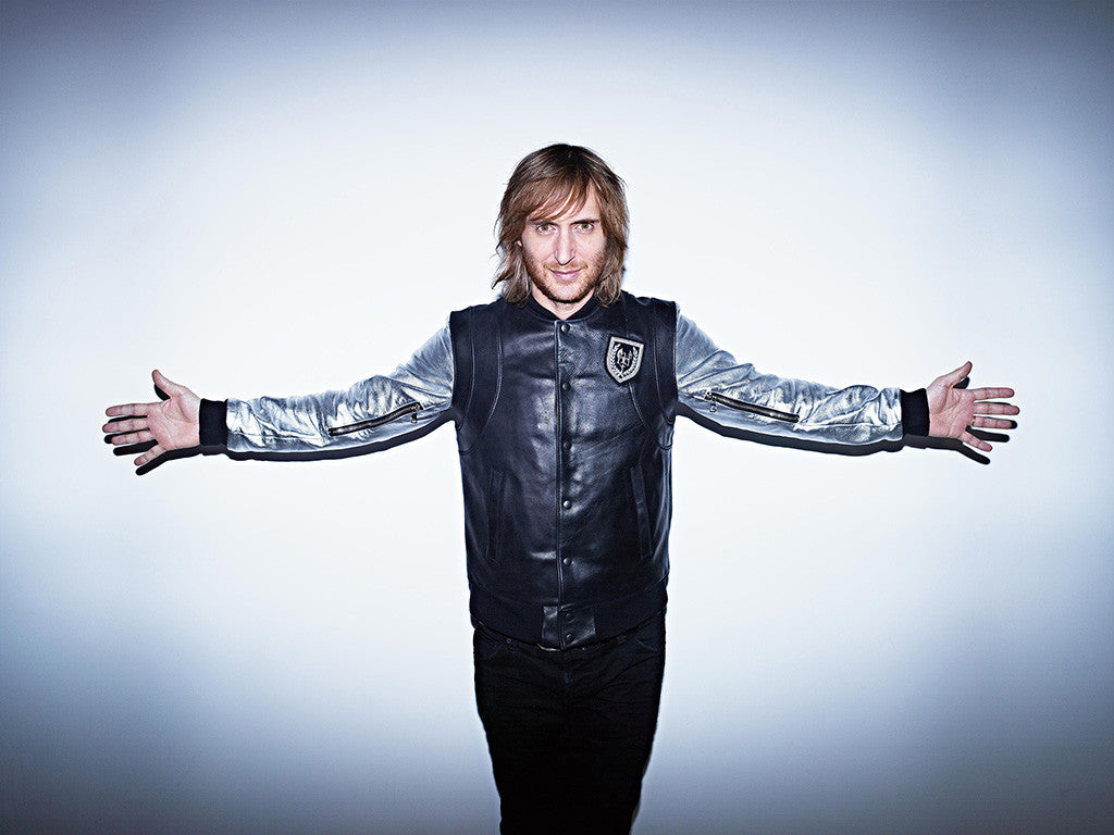 David Guetta Dance House Music Dj Poster