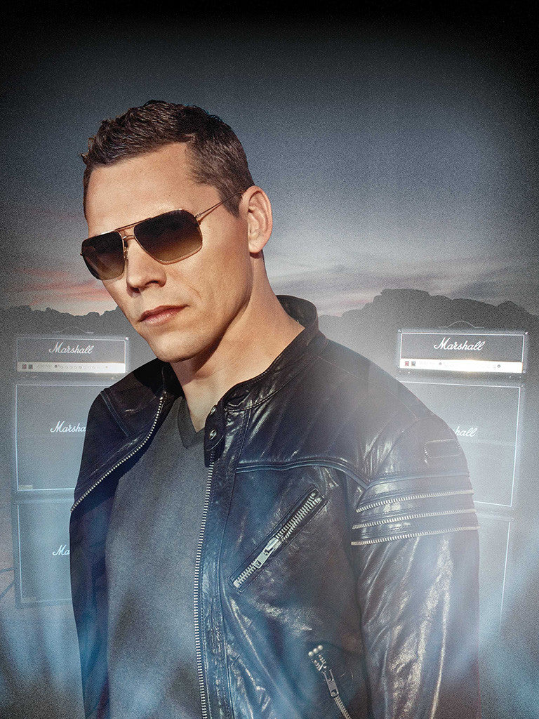 Tiesto Dj Trance House Electronic Music Glasses Poster