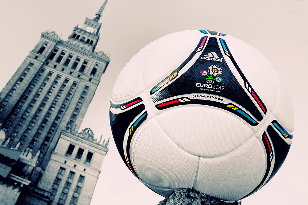 UEFA Euro 2012 Match Ball Football Soccer Poster
