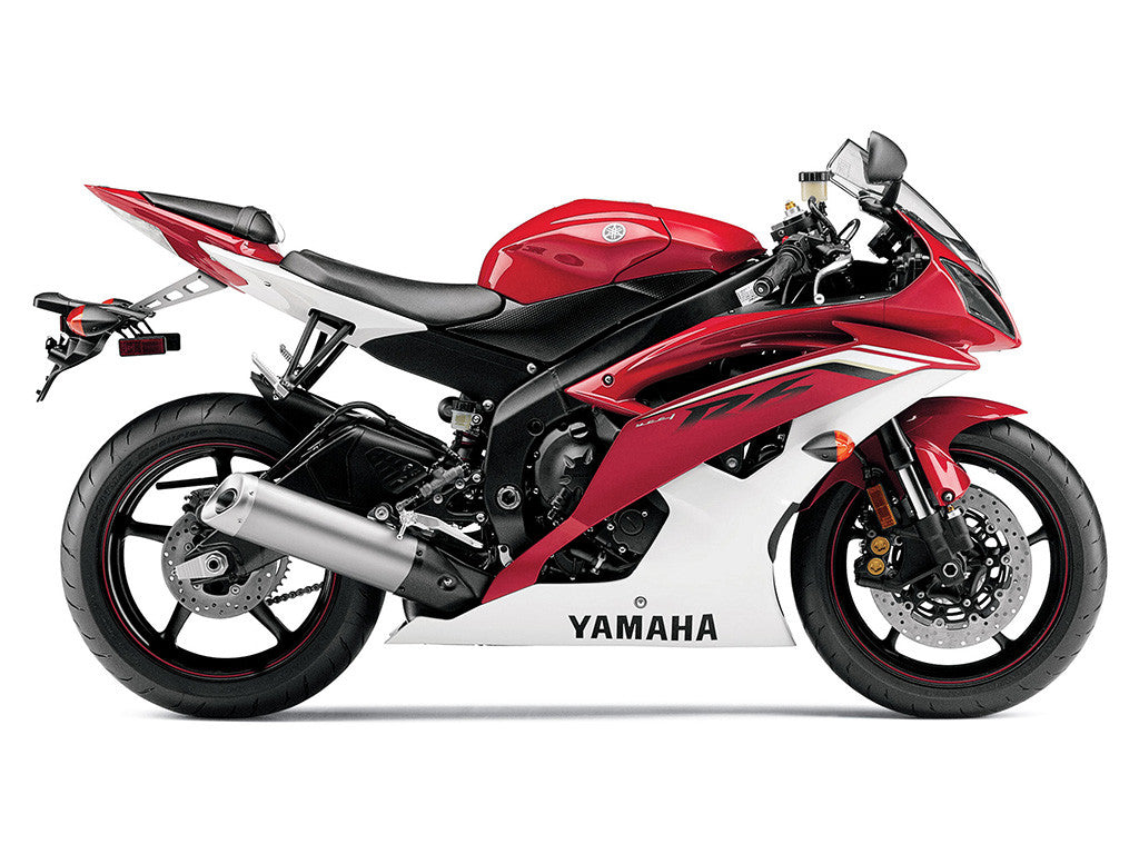 Yamaha YZF R6 Red Sport Bike Motorcycle Poster