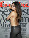 Mila Kunis Esquire Hot Erotic Sexy Poster 1 Of 4