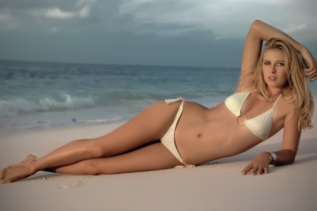 Maria Sharapova Bikini Tennis Player Hot Sexy Girl Poster