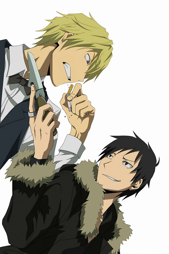 Durarara Izaya And Shizuo Anime Poster – My Hot Posters