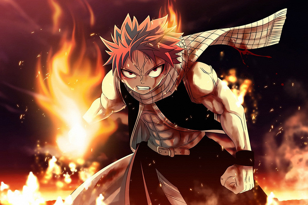 Fairy Tail Natus Anime Poster