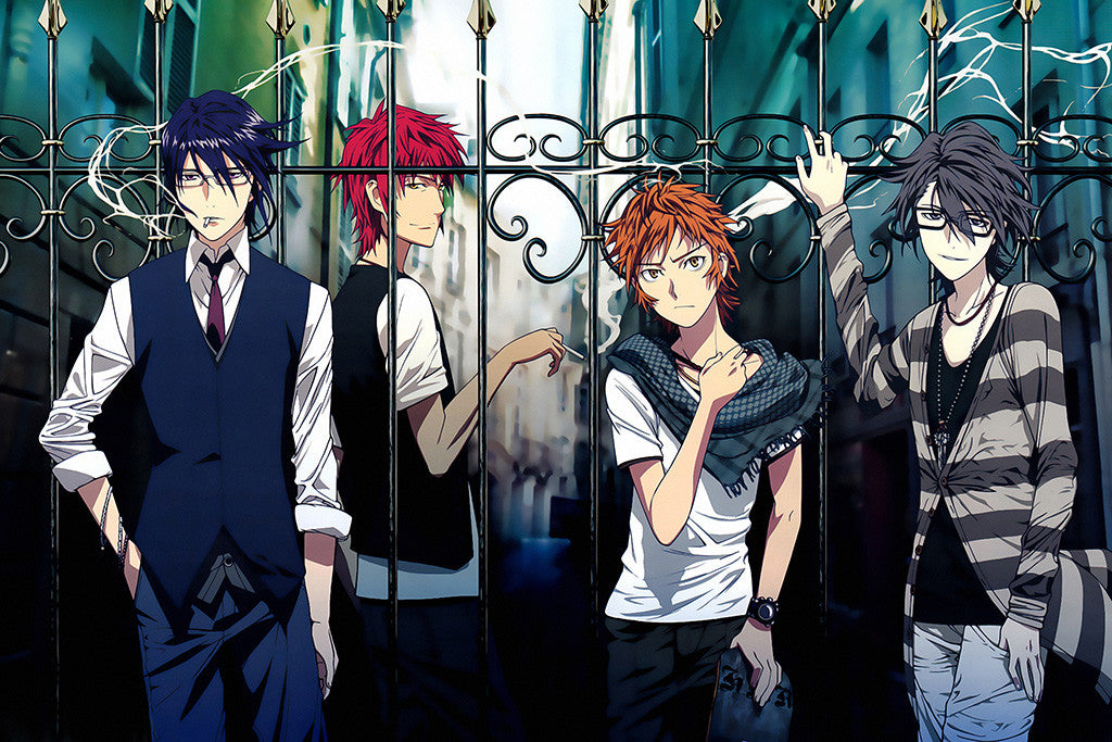 K Project Anime Poster
