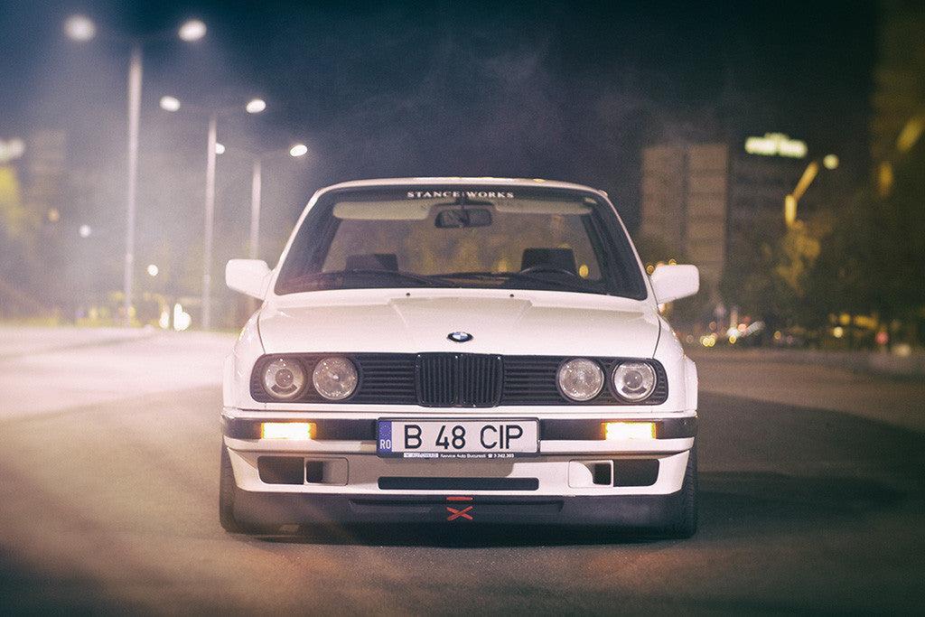 BMW 3 Series E36 Car Poster