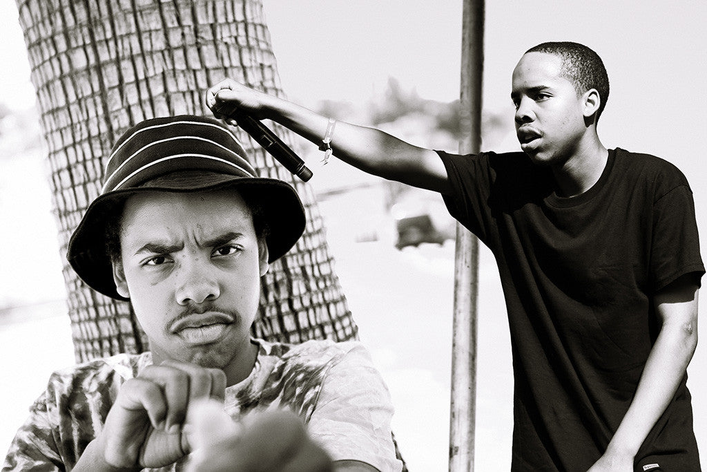 Earl Sweatshirt Rapper Black and White Poster