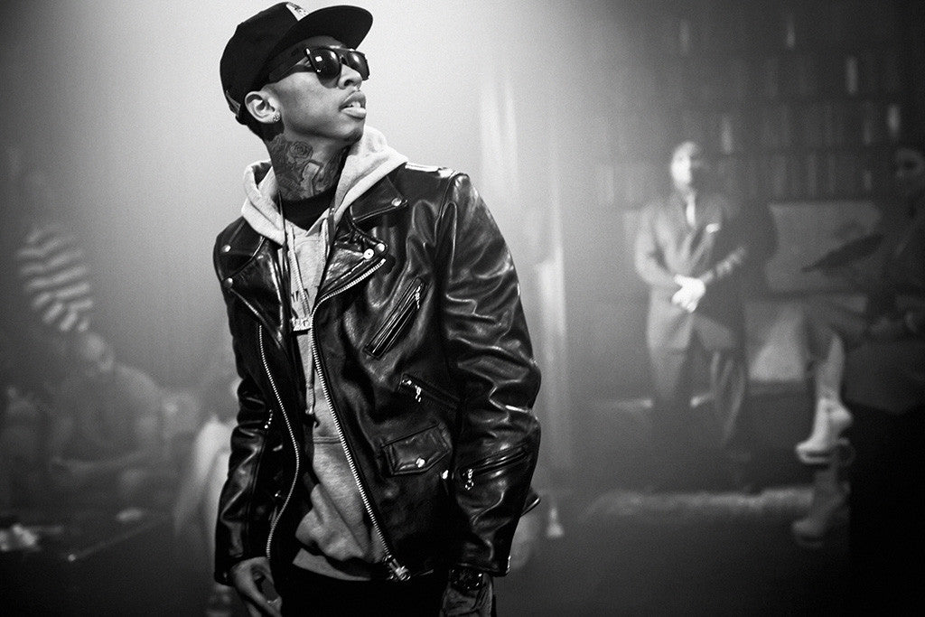 Tyga Black and White Hip Hop Rap Poster
