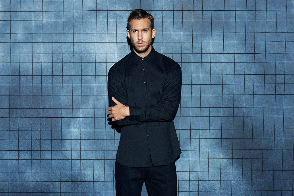 Calvin Harris DJ Dance Music Poster