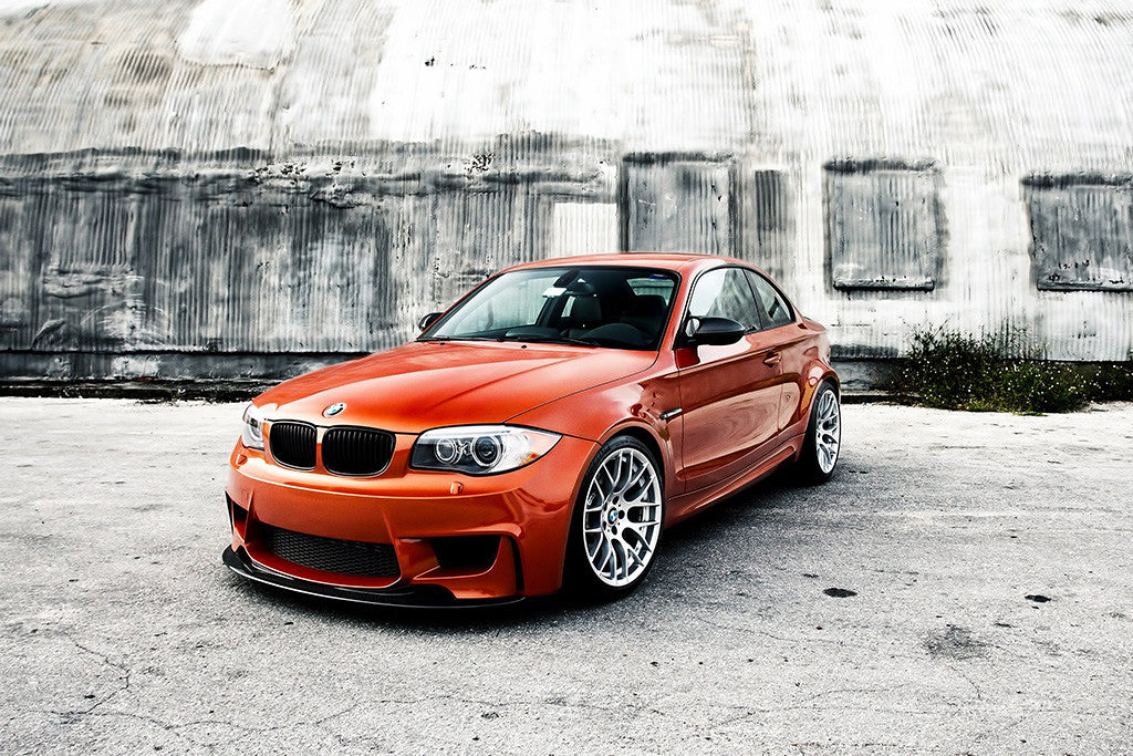 BMW M1 Coupe Orange Poster