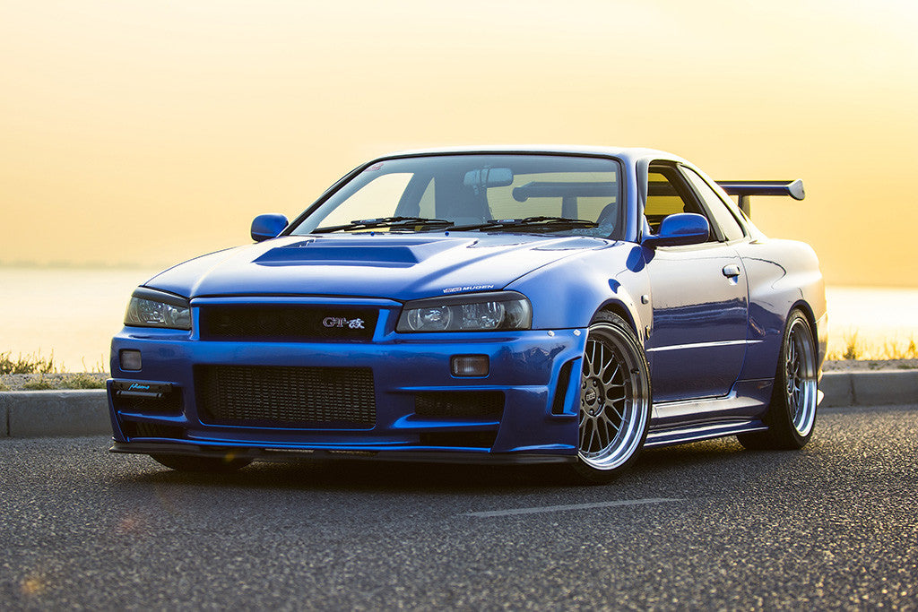 Nissan Skyline R34 Gt R Poster My Hot Posters