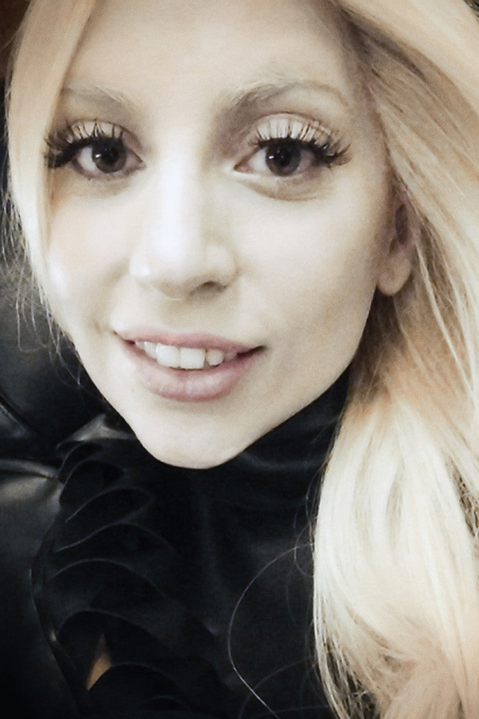 Lady Gaga Smile Poster