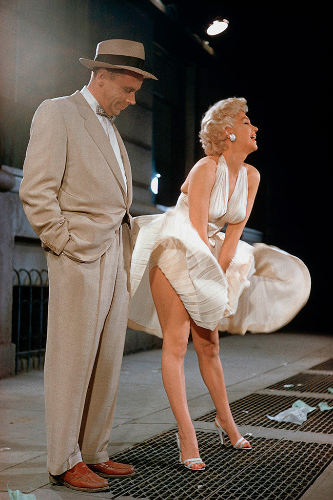 Marilyn Monroe 7 Year Itch Hot Girl Sexy Woman Full Body Poster