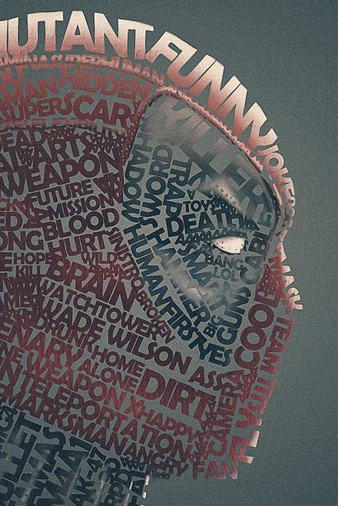 Deadpool Quotes Poster