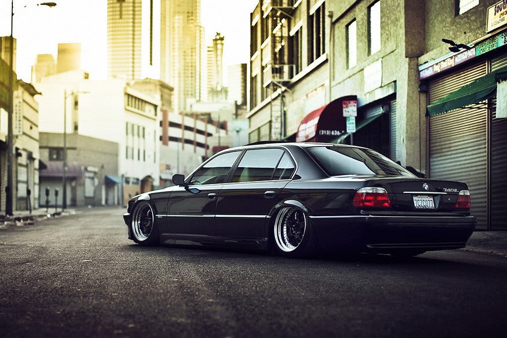 BMW 7 Series E38 Car Poster