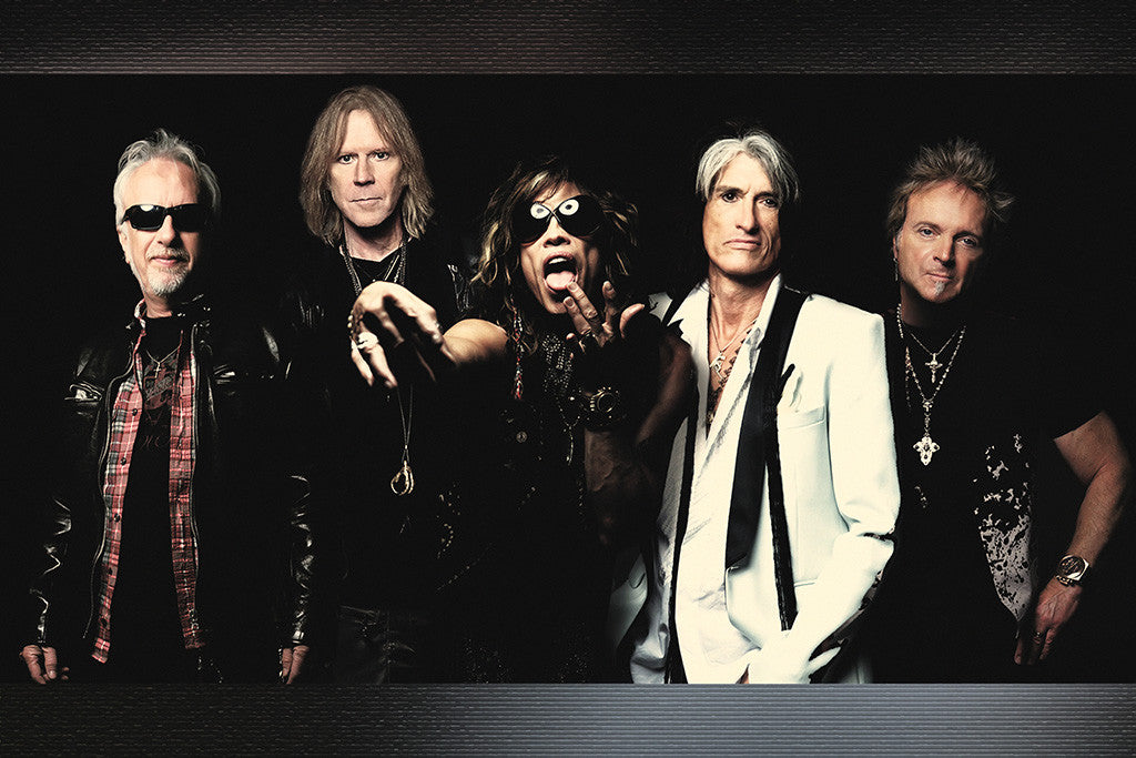 Aerosmith Classic Rock Band Poster