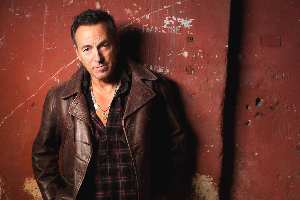 Bruce Springsteen Classic Rock Star Poster