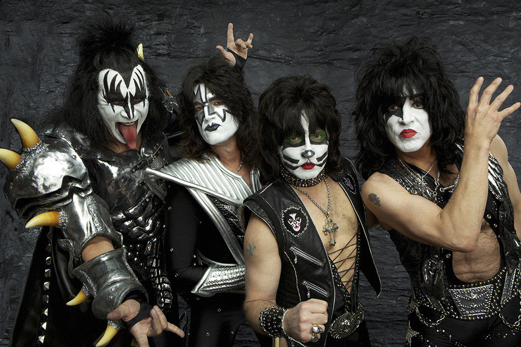 KISS Classic Rock Band Poster