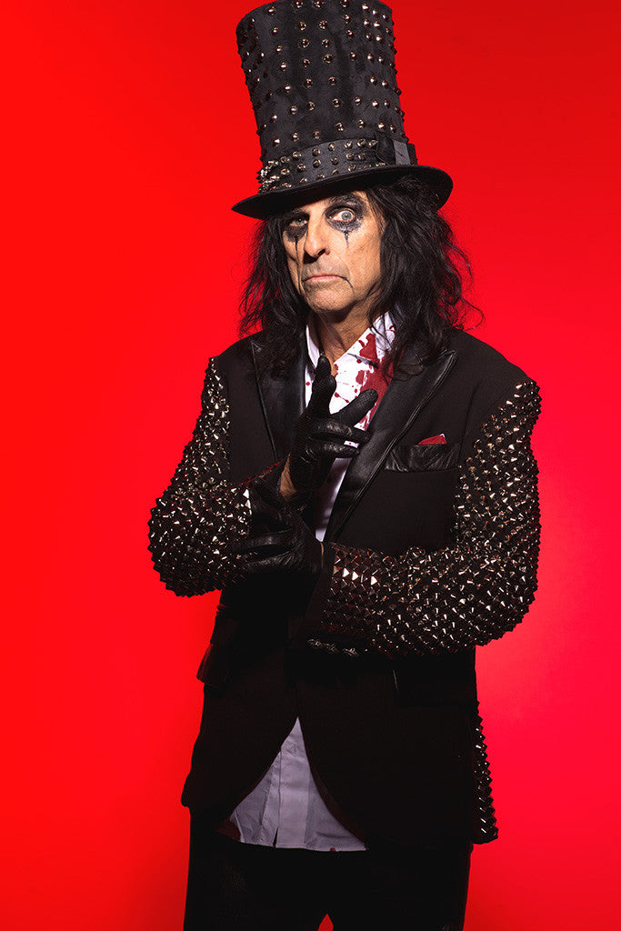 Alice Cooper Classic Rock Star Band Poster