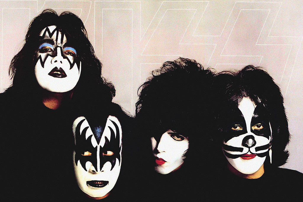 KISS Classic Rock Star Band Poster