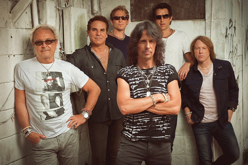 Foreigner Classic Rock Star Band Poster