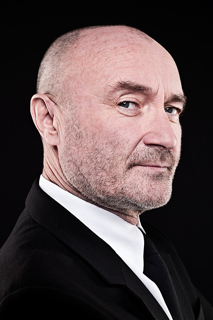 Phil Collins Classic Rock Star Band Poster