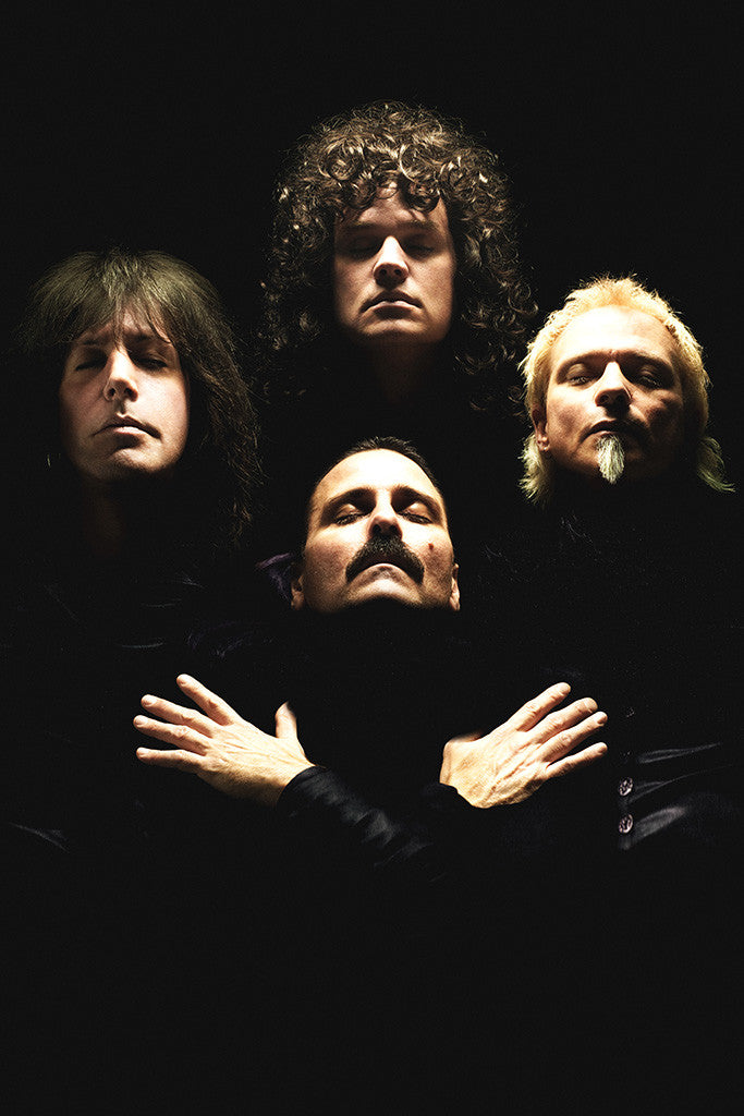 Queen Classic Rock Star Band Poster