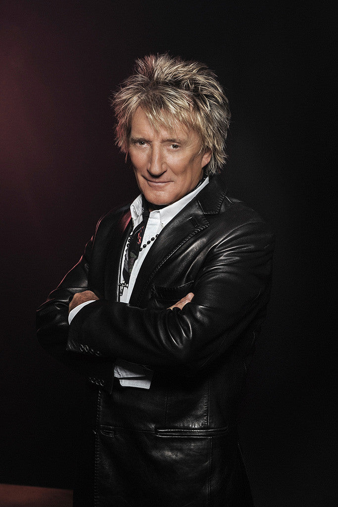 Rod Stewart Classic Rock Star Band Poster