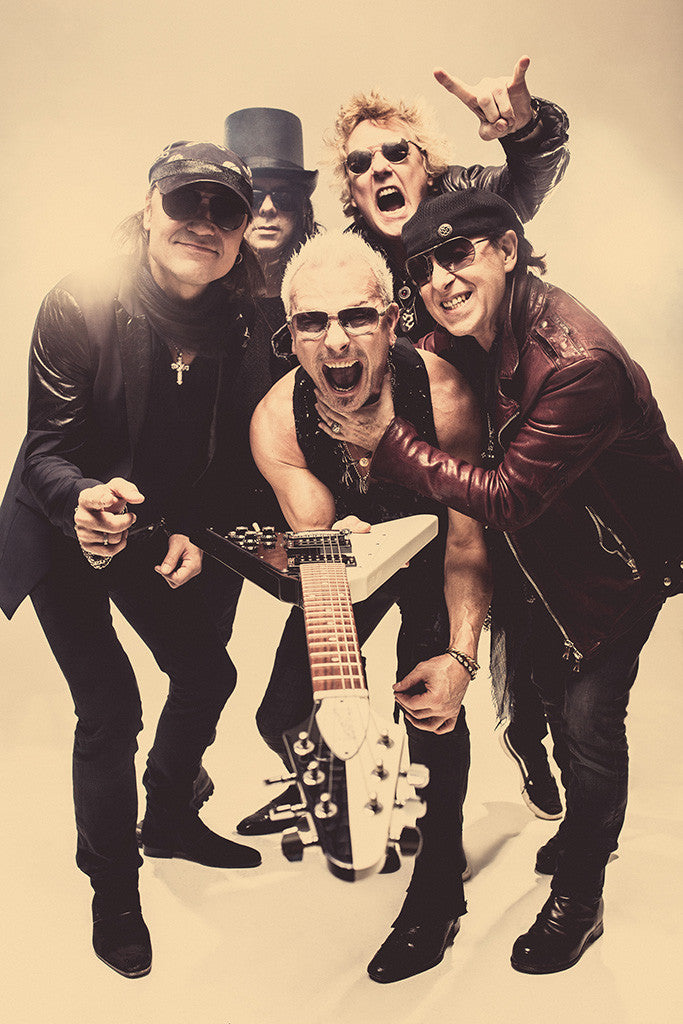 Scorpions Classic Rock Star Band Poster